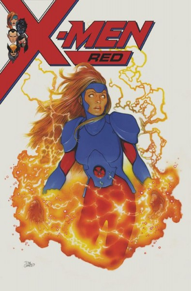 X-Men: Red 1: Gedankenspiele Variant
