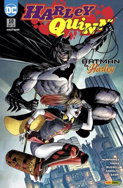 Harley Quinn 10: Batman & Harley Cover