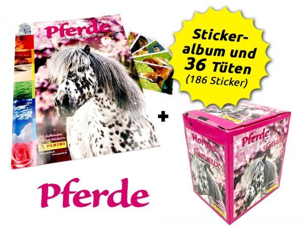 Pferde Sticker - Reise durch die Welt der Farben - Box-Bundle Inhalt