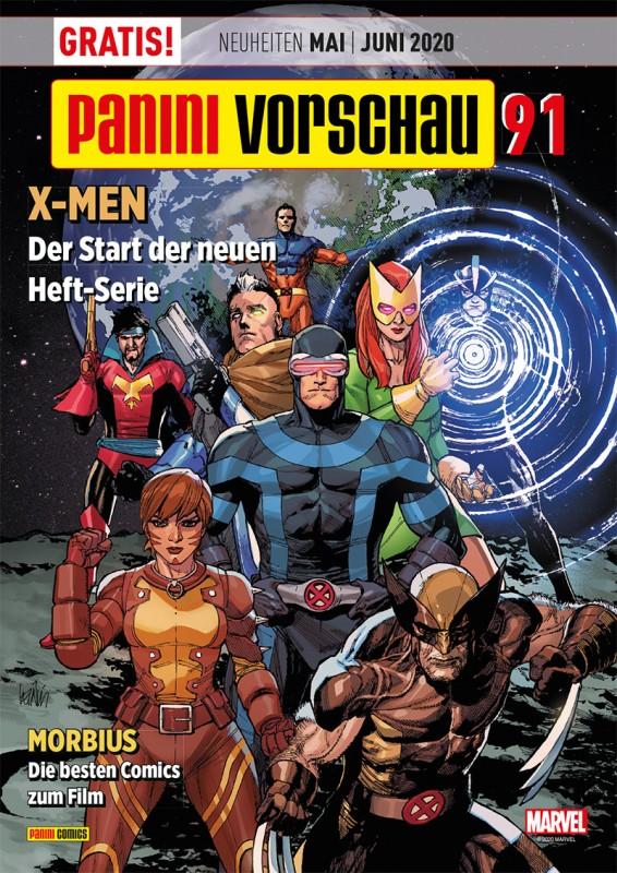 Panini Vorschau 91 - Neuheiten Mai/Juni 2020