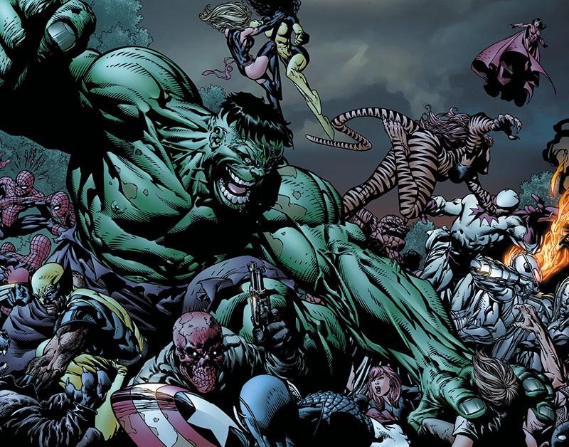 Marvel Must-Have Comics – Die Besten Marvel-Comics aller Zeiten im Hardcover – Avengers Heldenfall