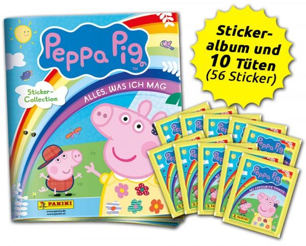 """Peppa Pig """"Alles, was ich mag"""" Schnupperbundle"""