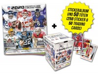 NFL 2020 Sticker & Trading Cards - Box-Bundle