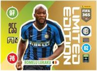 Panini FIFA 365 Adrenalyn XL 2021 Kollektion – LE-Card Romelu Lukaku Vorne