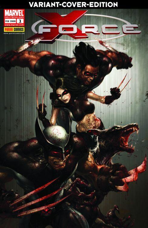 X-Men Sonderband: X-Force 1 Variant