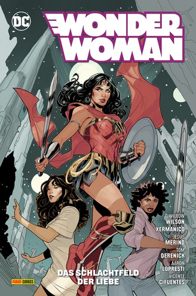 Wonder Woman 11: Das Schlachtfeld der Liebe Cover