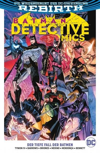 Batman - Detective Comics Paperback 6: Der Tiefe Fall der Batmen Cover