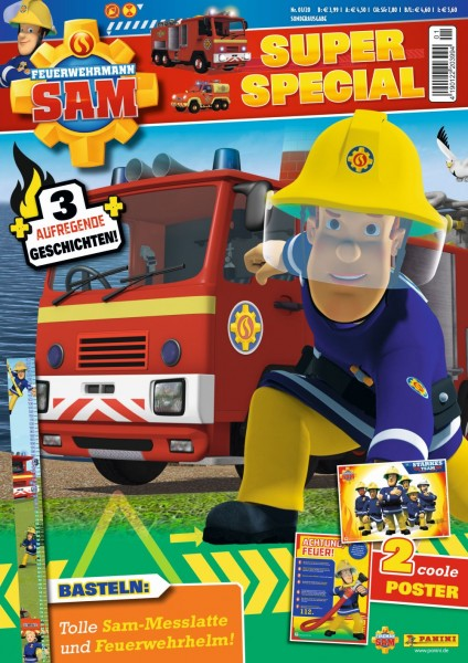 Feuerwehrmann Sam Super Special Magazin 01/20