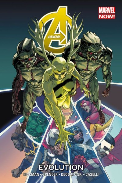 Avengers Paperback 3 (2014): Evolution Hardcover