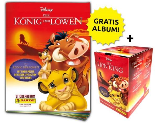 Disney der König der Löwen Stickerkollektion – Sticker-Starter-Bundle