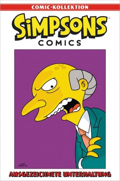 Simpsons Comic-Kollektion 37: Ausgezeichnete Unterhaltung Cover