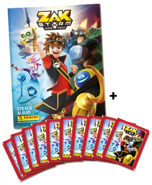 Zak Storm: Super Pirate Stickerkollektion – Schnupperbundle