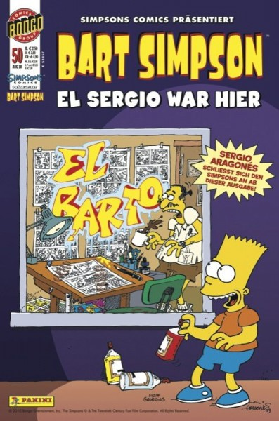 Bart Simpson Comics 50