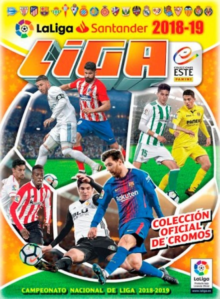 Laliga Santander Stickerkollektion 2018/2019 - Album