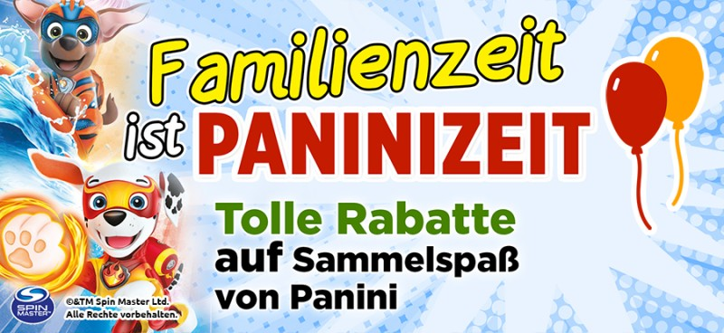 Familienzeit ist Paninizeit – Entdecke Kreativspaß mit Panini und tollen Rabatten auf Sammelspaß