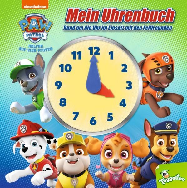 PAW Patrol - Mein Uhrenbuch Cover