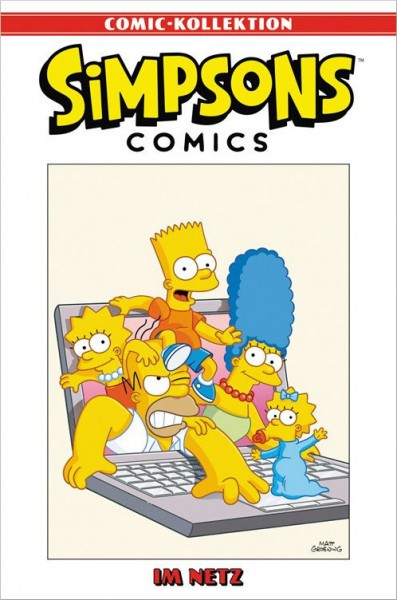 Simpsons Comic-Kollektion 32: Im Netz Cover