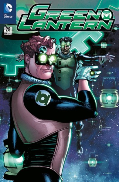 Green Lantern 28 Steampunk-Variant