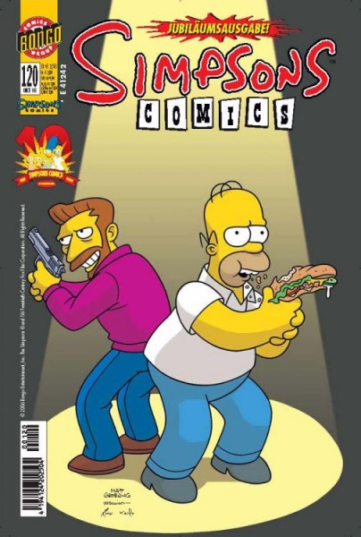 Simpsons Comics 120