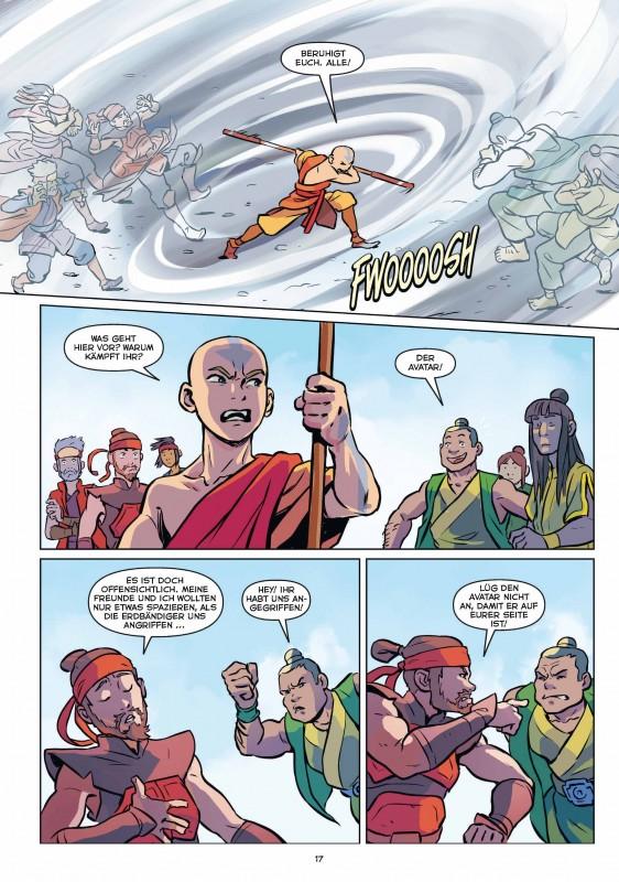 Avatar Beispielseite