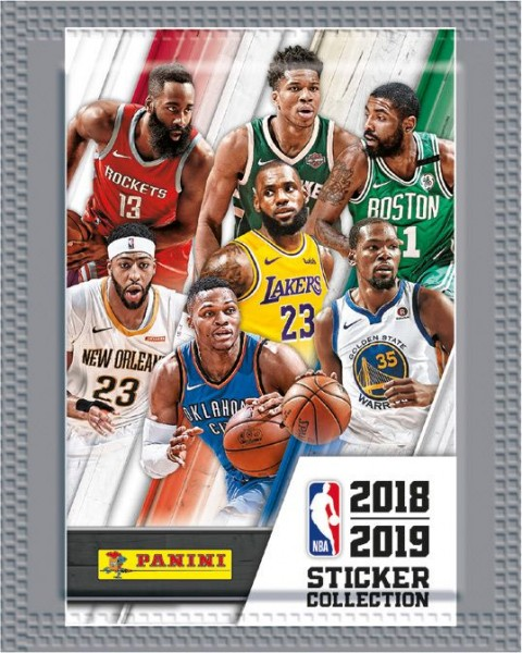 NBA 2018-2019 Stickerkollektion - Tüte