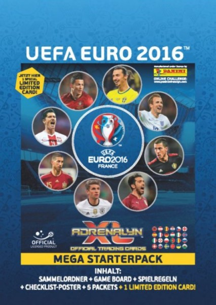 UEFA Euro 2016 Adrenalyn XL - Mega Starterset