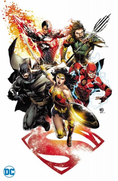 Justice League 5 Comic Con Köln Variant