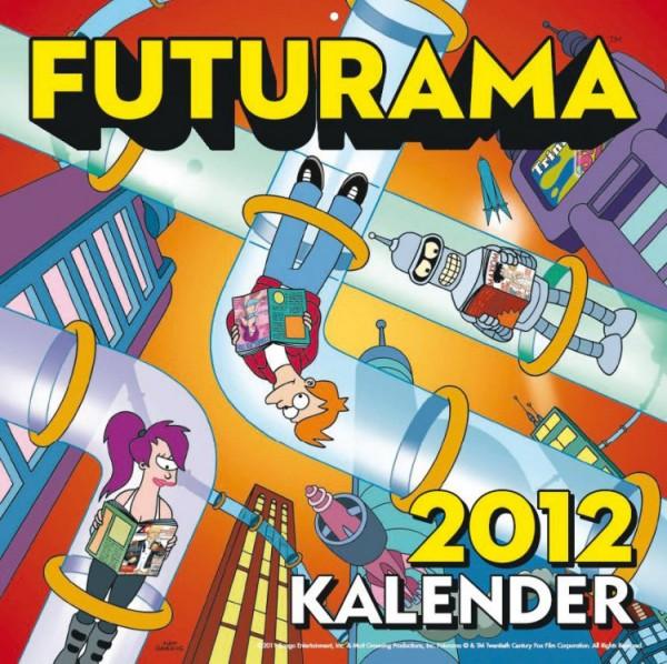 Futurama - Wandkalender (2012)