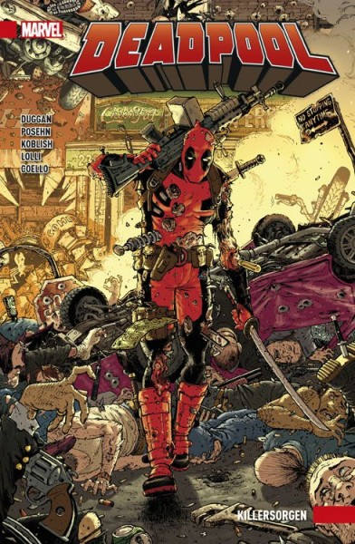 Deadpool Paperback 2: Killersorgen