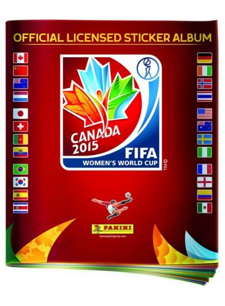 FIFA Frauen WM Sticker-Kollektion - Album