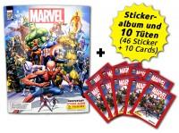 80 Jahre Marvel Sammelkollektion - Sticker und Cards -  Schnupperbundle