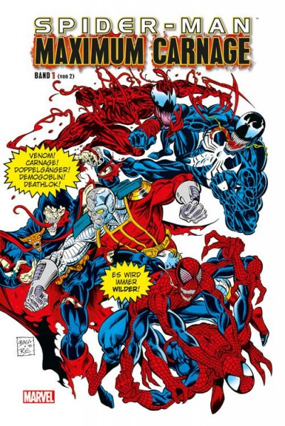 Spider-Man: Maximum Carnage 1 Hardcover