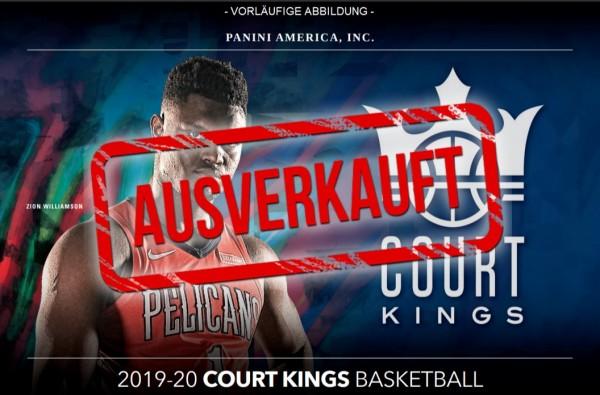 NBA Court KIngs 2019/20 - Trading Cards - Blasterbox ausverkauft
