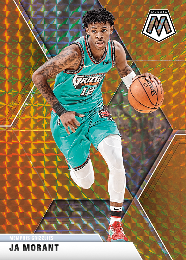 NBA Mosaic Trading Cards - Ja Morant