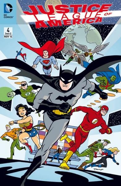Justice League of America 4 Variant (75 Jahre Batman) - Comic Action 2014