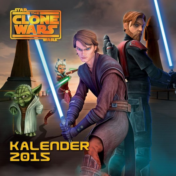 Star Wars: The Clone Wars - Wandkalender (2015)