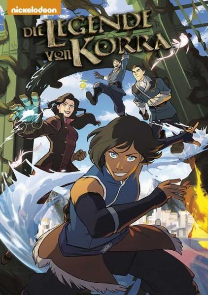 Die Legende von Korra 1: Revierkämpfe 1 Cover