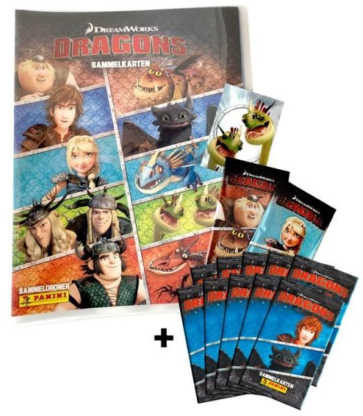 Dragons Trading Cards-Kollektion - Sammelbundle mit 10 Packs