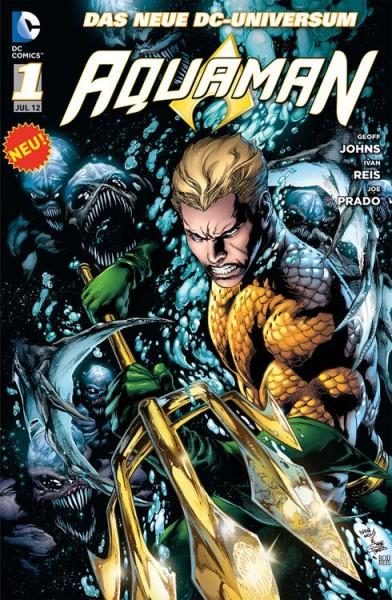 Aquaman 1: Der Graben (2012) Cover