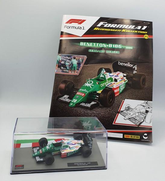 Formula 1 Rennwagen-Kollektion 75: Gerhard Berger (Benetton B186)