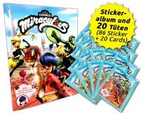 Miraculous Ladybug Sticker und Trading Cards Sammelbundle