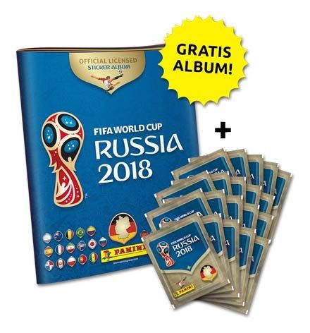 2018 FIFA World Cup Russia Stickerkollektion – Starterbundle 2
