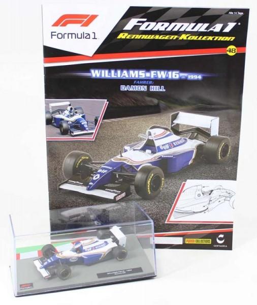 Formula 1 Rennwagen-Kollektion 48 - Damon Hill (Williams FW16)