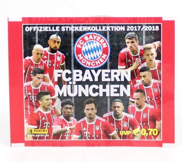 FC Bayern München 2017/2018 - Stickerkollektion - Tüte