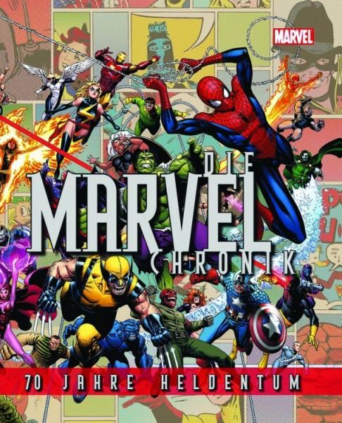 Die Marvel Chronik 70 Jahre Heldentum