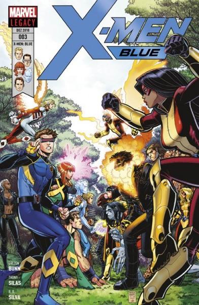 X-Men: Blue 3 - Auf der Suche nach der Zeit