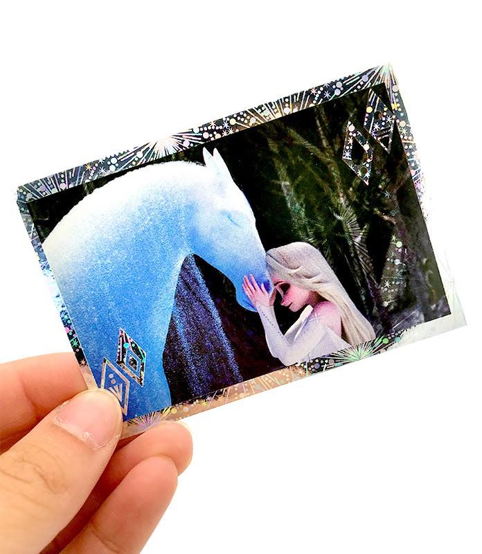Die Eiskönigin 2 - Crystal Edition - Sticker und Cards - Beispiel Glitzersticker