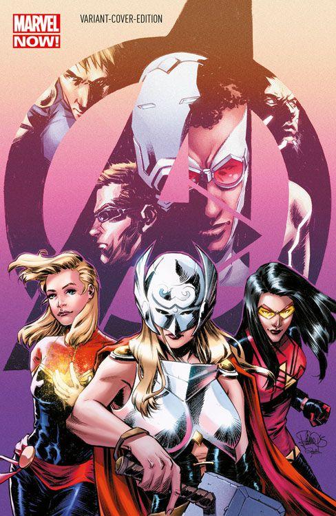 Avengers 33 (2013) Variant -...