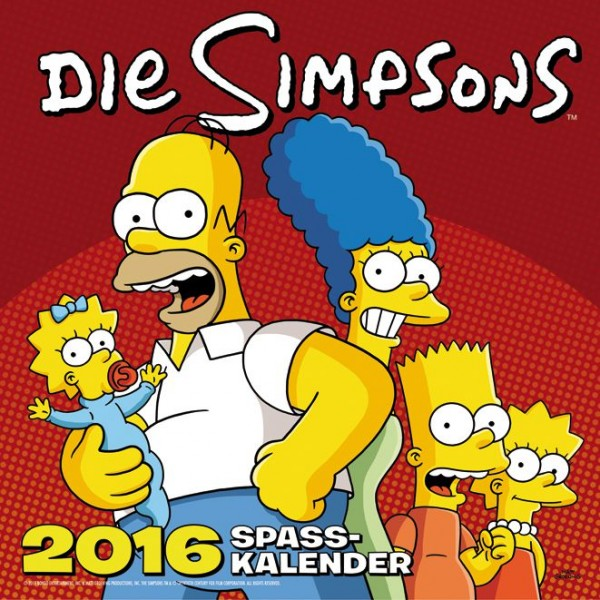 Simpsons - Wandkalender (2016)