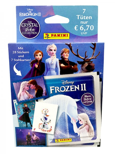 Disney: Die Eiskönigin 2 - Cristal Edition - Sticker und Cards - Blister
